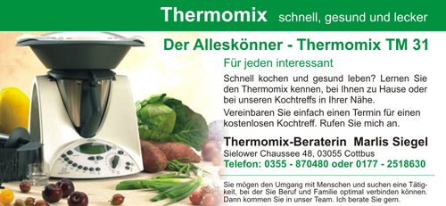 Marlies Siegel - Thermomix